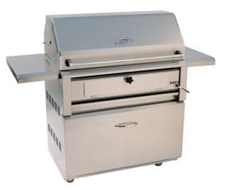 """AHT-42CHAR-F LUXOR 42"""" FREE STANDING CHARCOAL GRILL"""
